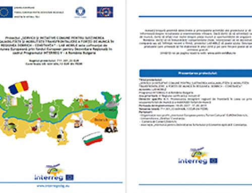 Brosura de proiect în limba română